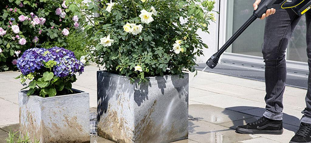 Pese terassi ja ulkokalusteet helposti