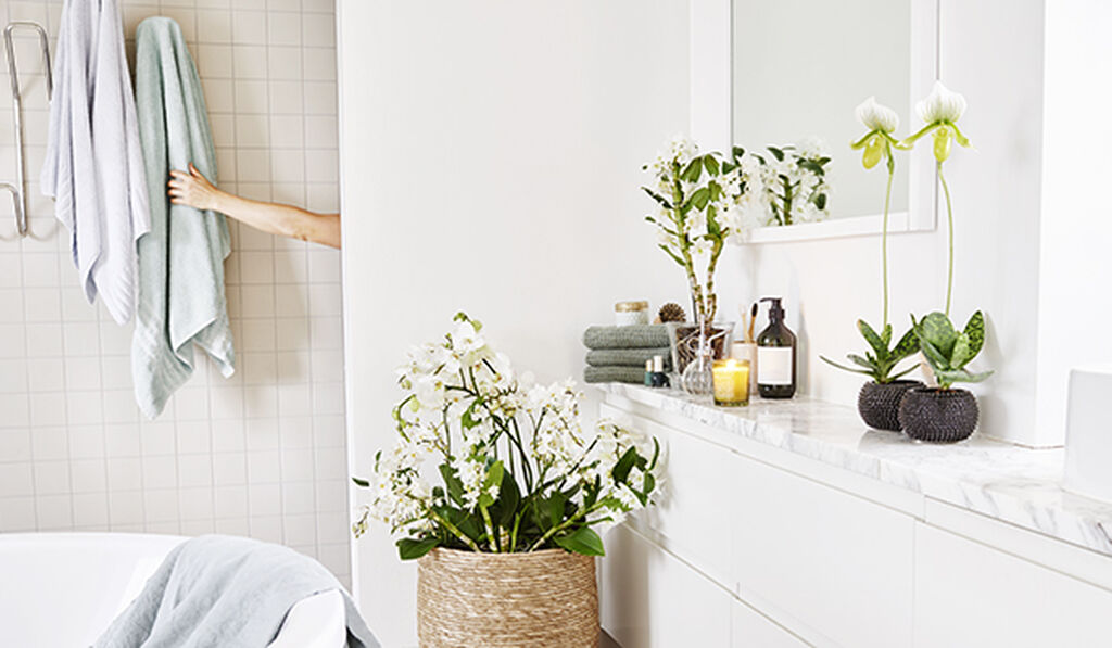 Virkistä kylpyhuonetta