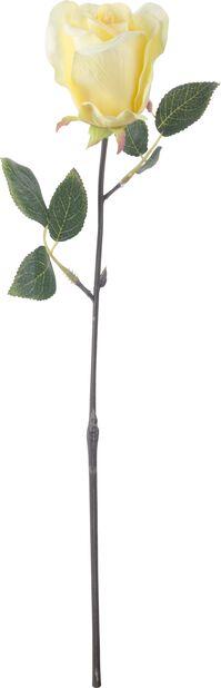 Leikkoruusu tekokasvi, Korkeus 45 cm, Keltainen