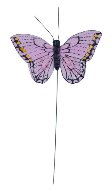 Koristetikku perhonen 24 cm