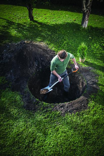 Xact puutarhan pistolapio L Fiskars, Pituus 120 cm, Monivärinen