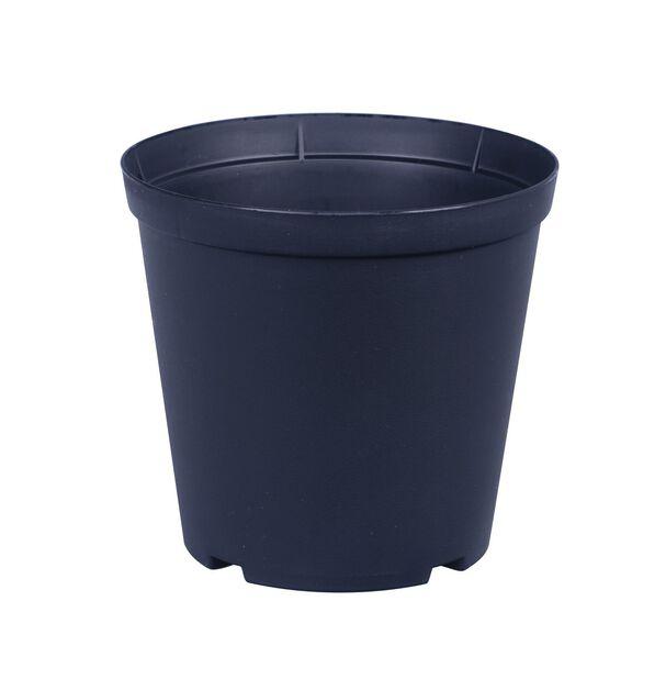 Istutusruukku Floria, Ø14 cm, Musta