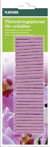Ravinnepuikko orkidealle, 30 kpl, Monivärinen