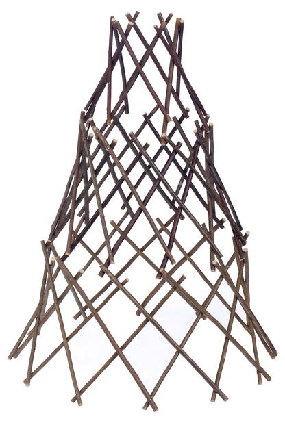 Pajutuki kartio, Korkeus 90 cm, Ruskea