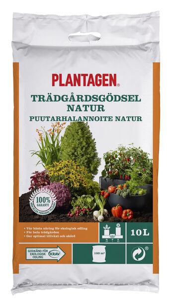Vihannes/puutarha ravinne Luomu, 10 L, Monivärinen