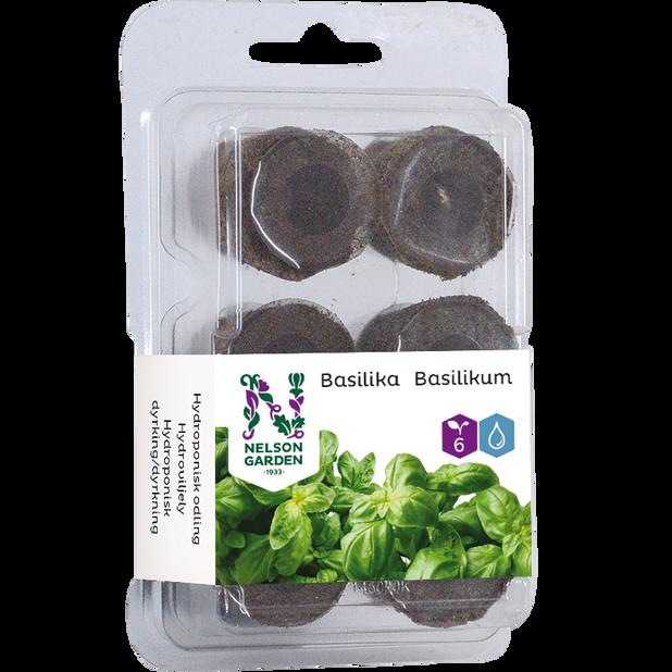 Kylvökapseli basilikan vesiviljelyyn, 6 kpl, Monivärinen