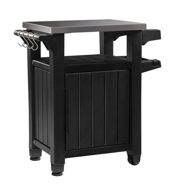 Istutuspöytä Unity, Pituus 75 cm, Musta