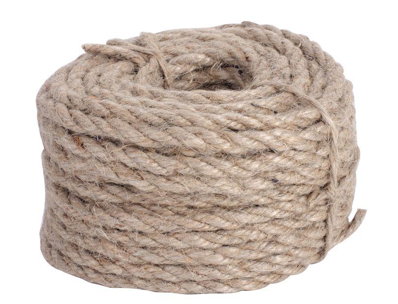 Jute rope 15m natur