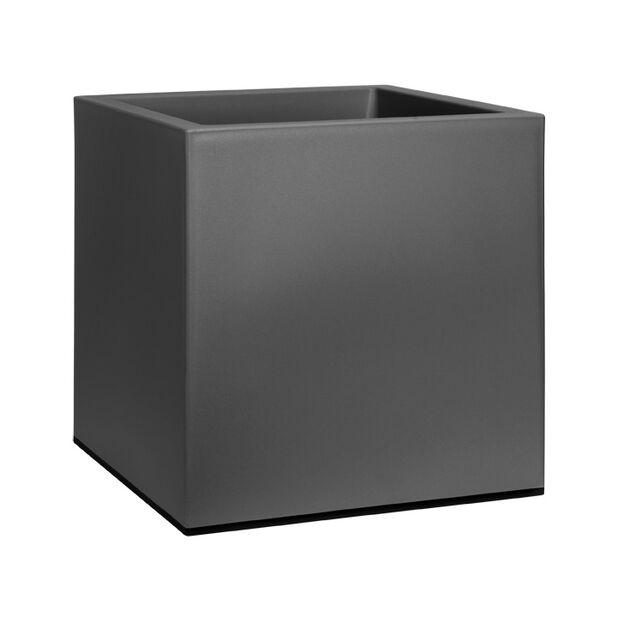 Pyörällinen ruukku Elho Vivo, Leveys 40 cm, Musta