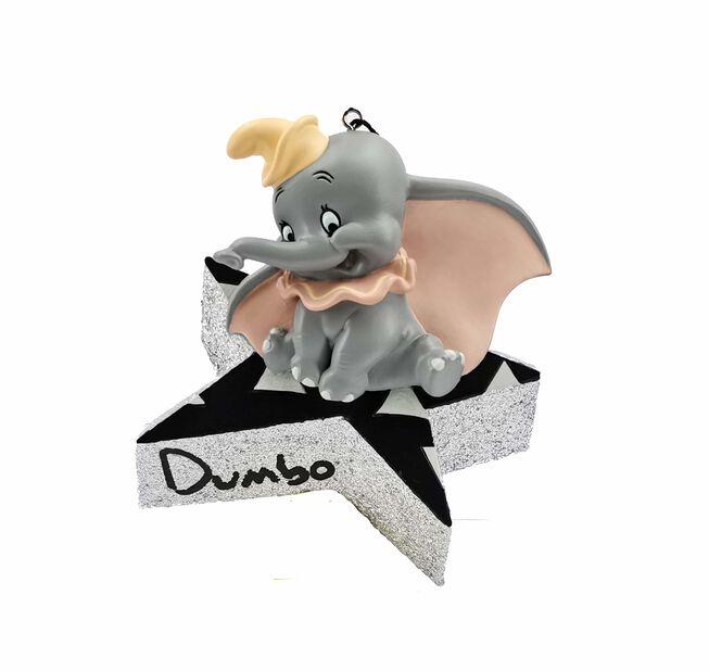Joulukoriste Disneyn Dumbo, Korkeus 5.5 cm, Harmaa