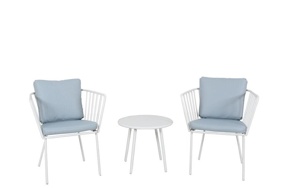 Kahvilaryhmä Skagerak, 2 istumapaikkaa, Valkoinen