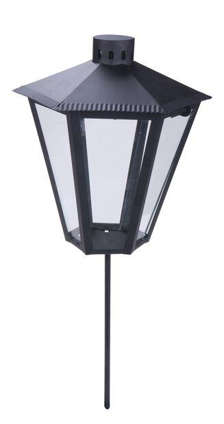 Hautalyhty Dew, Korkeus 20 cm, Musta