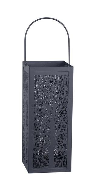 Metallilyhty Koivu, Korkeus 26 cm, Musta