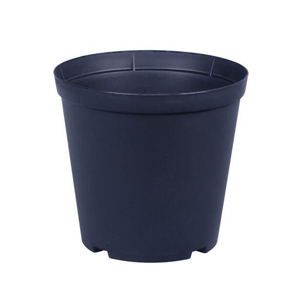 Istutusruukku Floria, Ø12 cm, Musta
