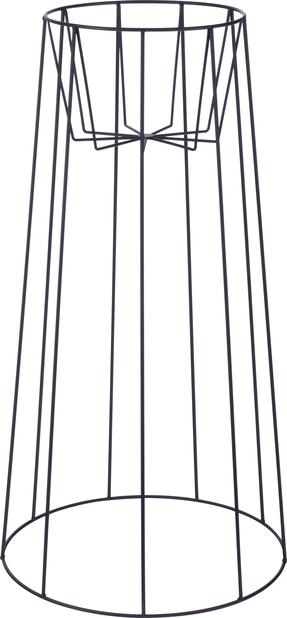 Jalusta Danny, Korkeus 75 cm, Musta