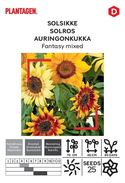 Auringonkukka' Fantasy blandet'
