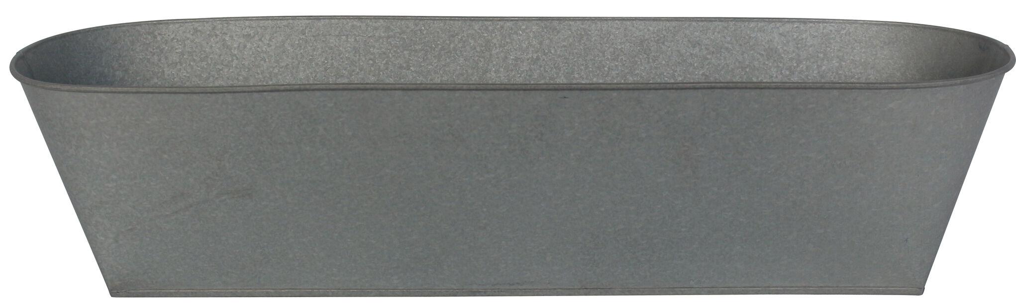 Parvekelaatikko Mario, Pituus 61 cm, Harmaa