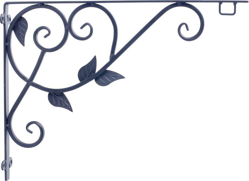 Kannattimet Arden, Korkeus 30 cm, Musta