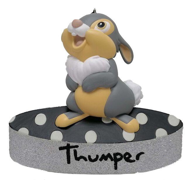 Joulukoriste Disneyn Bambi-elokuvan Rumpali, Korkeus 7 cm, Monivärinen