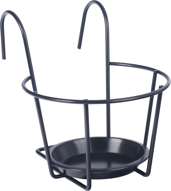Ruukunpidike, Ø24 cm, Musta