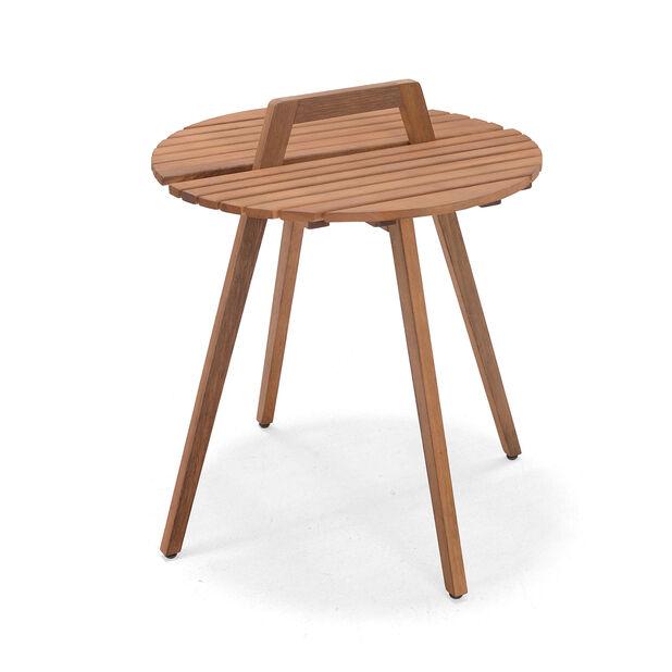 Pöytä Ameland, Ø49 cm, Puunvärinen