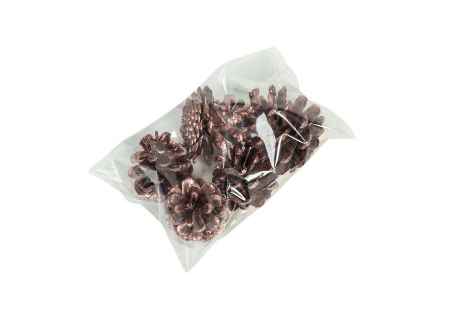 Kuparinväriset kävyt, 250 g, Kupari