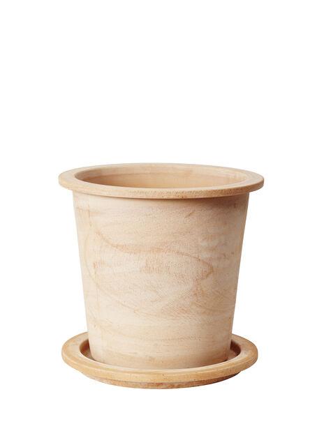 Ruukku Olea pyöreä, Korkeus 35 cm, Terrakotta