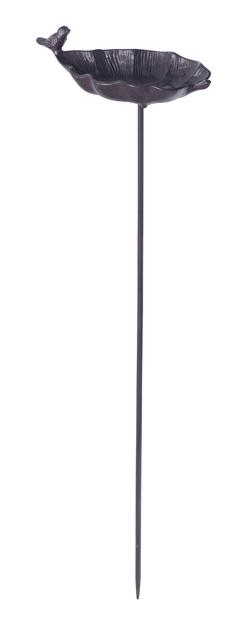 Lintujen kylpyallas -tikku, Pituus 85 cm, Ruoste