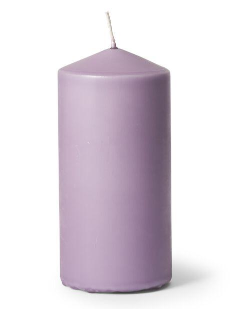 Pöytäkynttilä, Korkeus 14 cm, Violetti