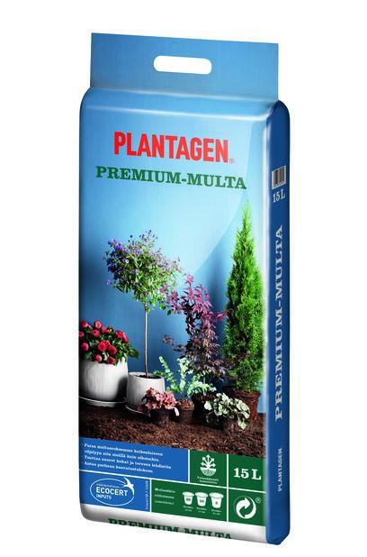 Kukkamulta Premium, 15 L, Monivärinen