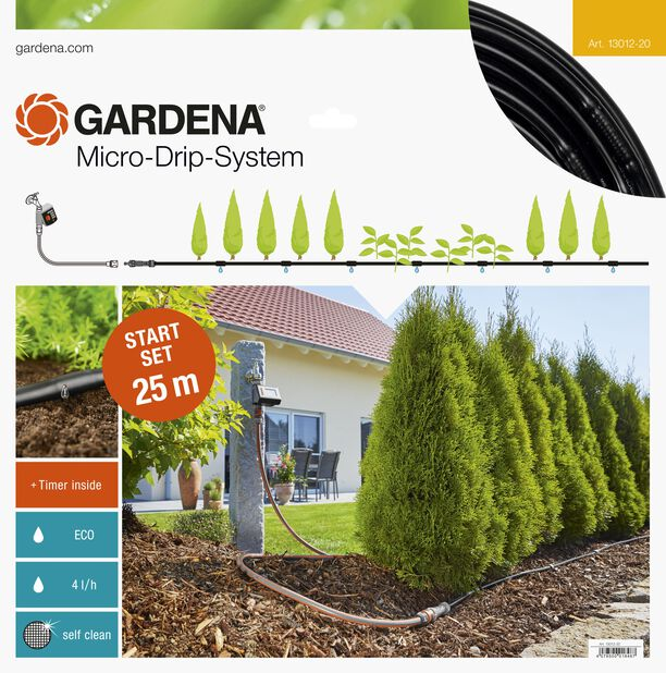 Aloituspaketti kasvisrivi M Automatic Gardena