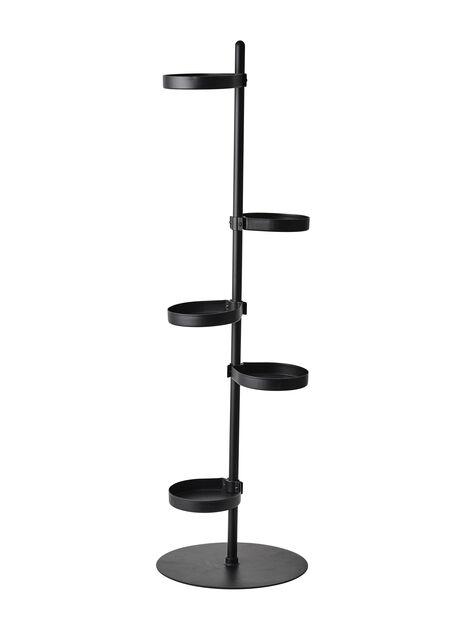 Jalusta Tilia, Korkeus 103 cm, Musta