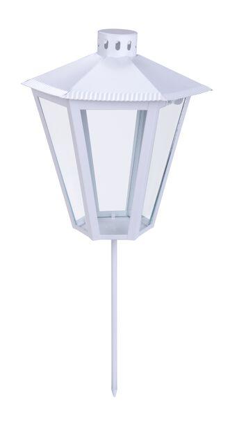 Hautalyhty Dew, Korkeus 20 cm, Valkoinen