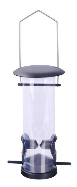 Ruokinta-automaatti siemenille, Korkeus 23 cm, Musta