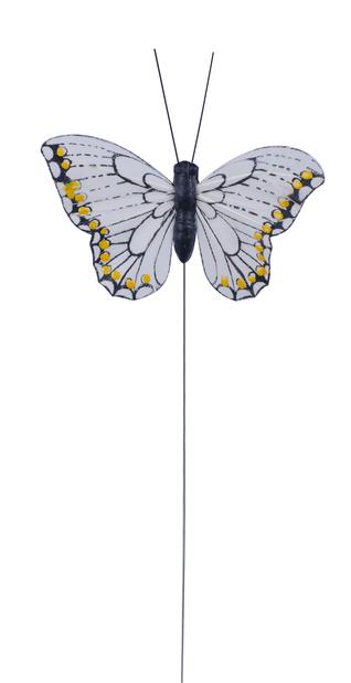 Koristetikku perhonen, Korkeus 15 cm, Useita värejä