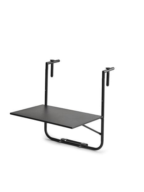 Parvekepöytä Beata, Leveys 60 cm, Musta