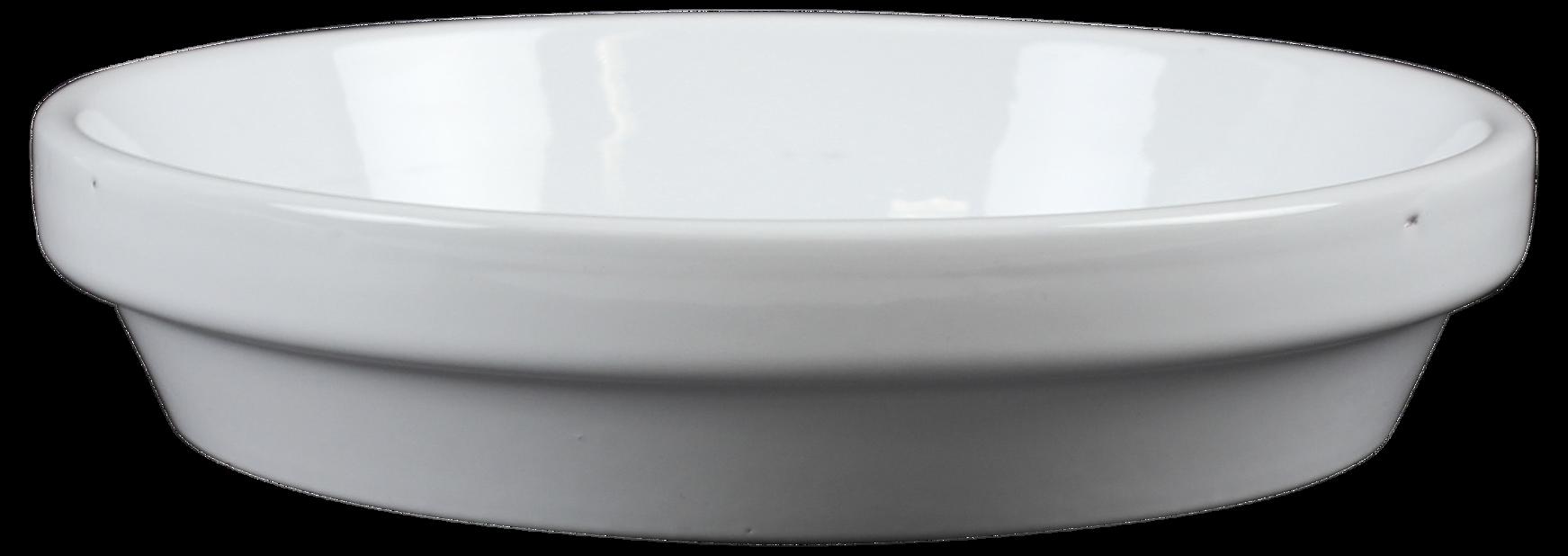 Aluslautanen 13 cm valkoinen