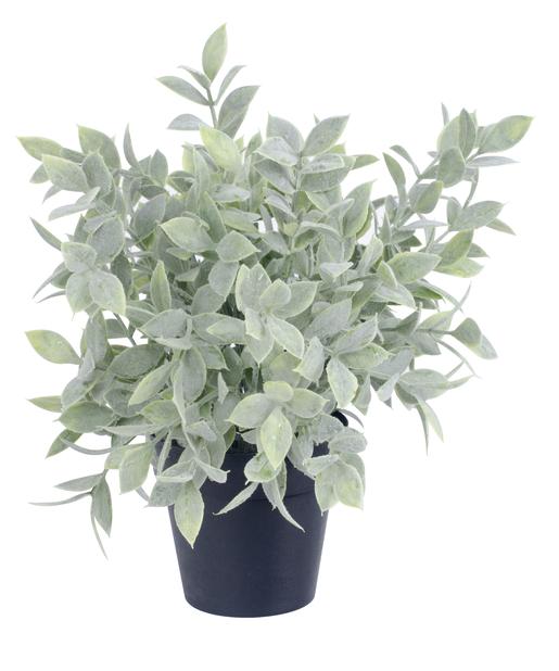 Vihreä  tekokasvi , Korkeus 25 cm, Vihreä