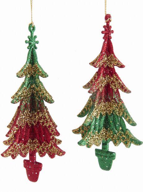 Joulukoriste joulukuuset, Korkeus 12 cm, Vihreä