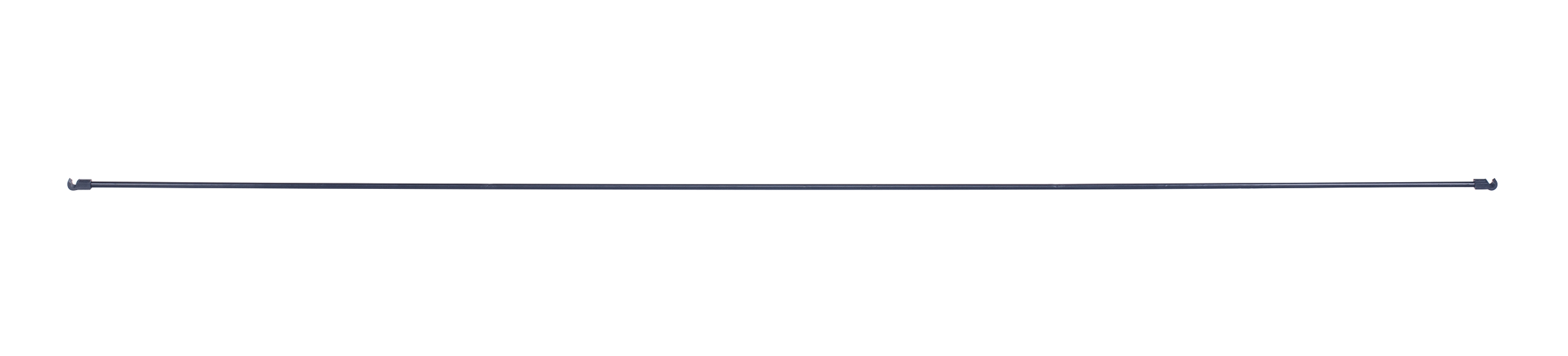 Kaarien metallituki, Pituus 117 cm, Musta