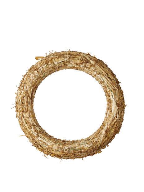 Olkikranssi , Korkeus 25 cm, Puunvärinen