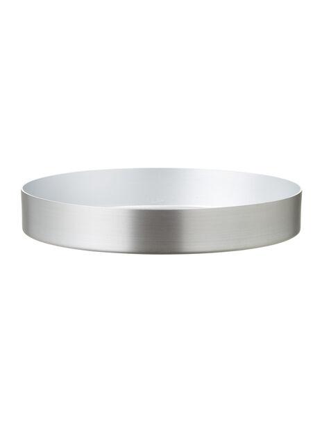 Colin aluslautanen 17,5 cm hopea