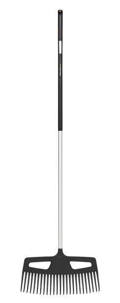 Xactnurmikkoharava Fiskars, Pituus 176 cm, Harmaa