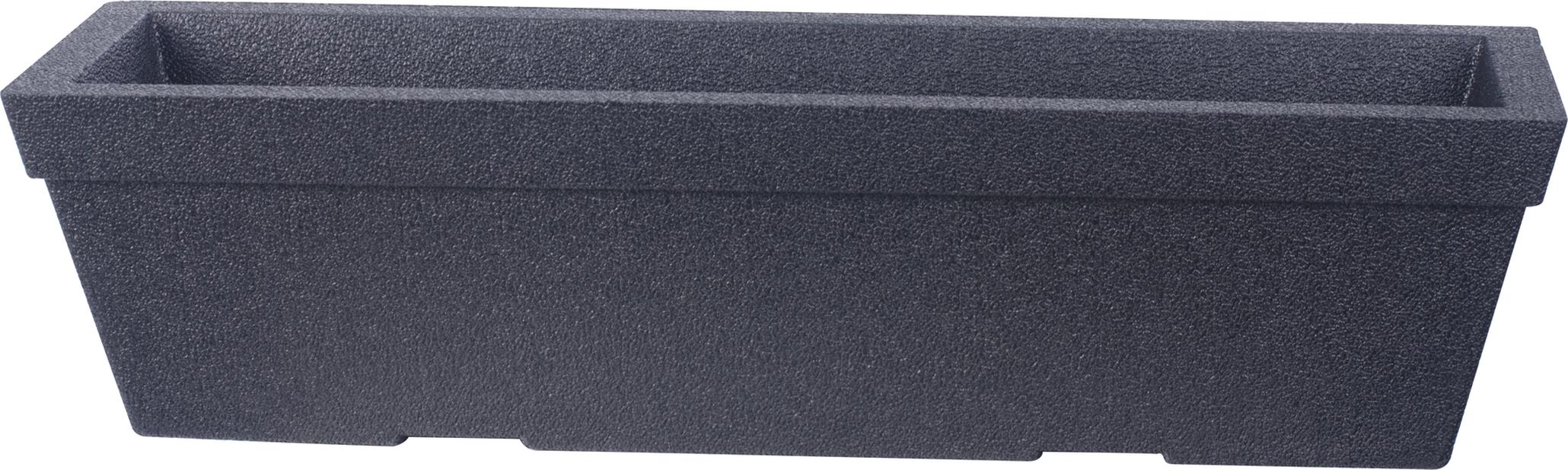 Parvekelaatikko Milla, Ø76 cm, Musta