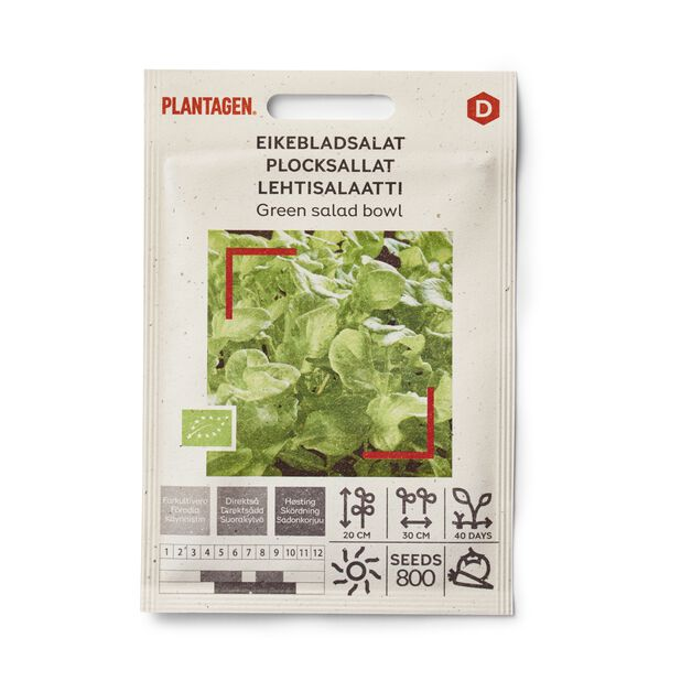 Lehtisalaatti Green salad bowl