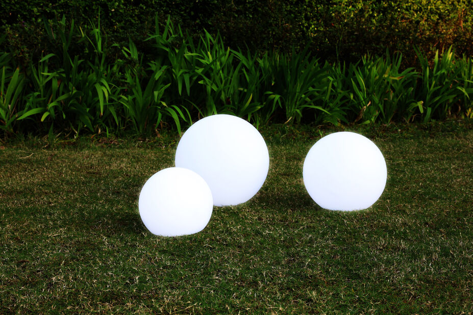 Pyxis ulkopallolamppu, Ø25 cm, Valkoinen