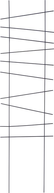 Säleikkö Ortus, Korkeus 118 cm, Musta