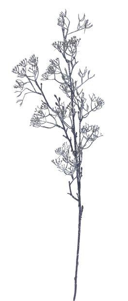 Keinotekoinen kimallehavunoksa, Korkeus 80 cm, Ruskea