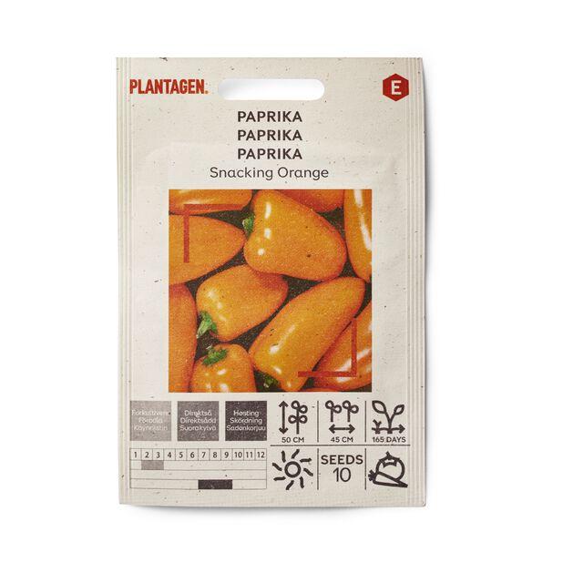 Paprika 'Snacking Orange', Monivärinen