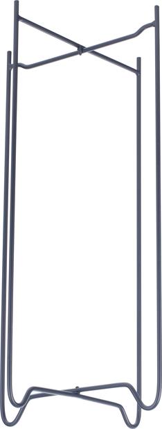 Zoe jalusta , Korkeus 49 cm, Musta